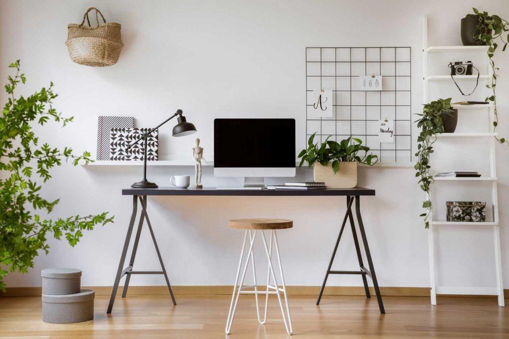 Arbeitszimmer zu Hause