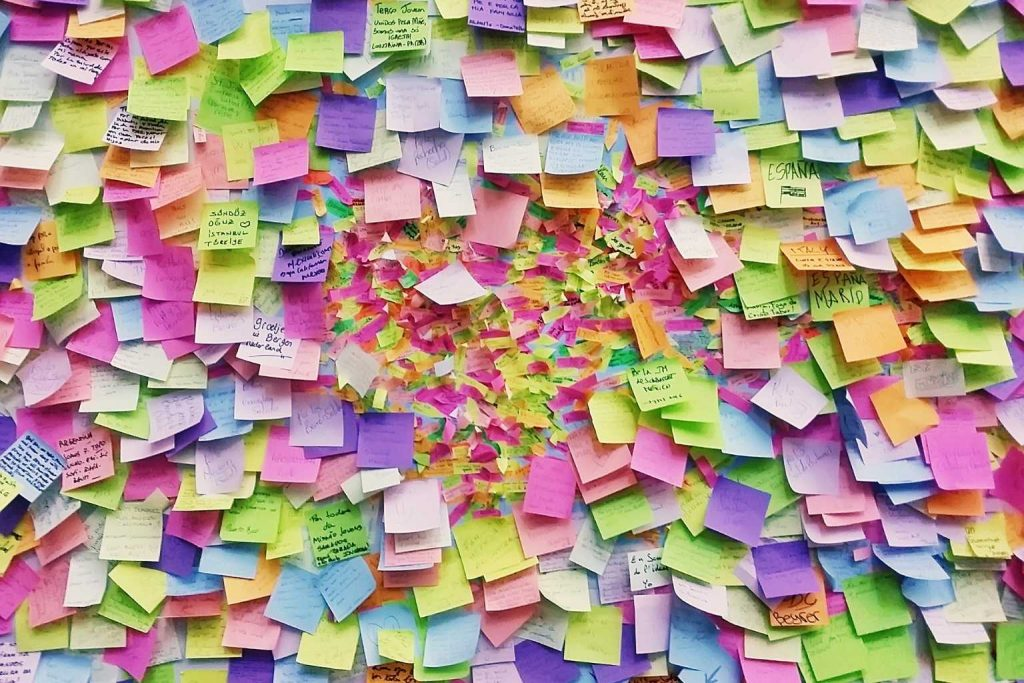 Brainstorming Session Post-Its
