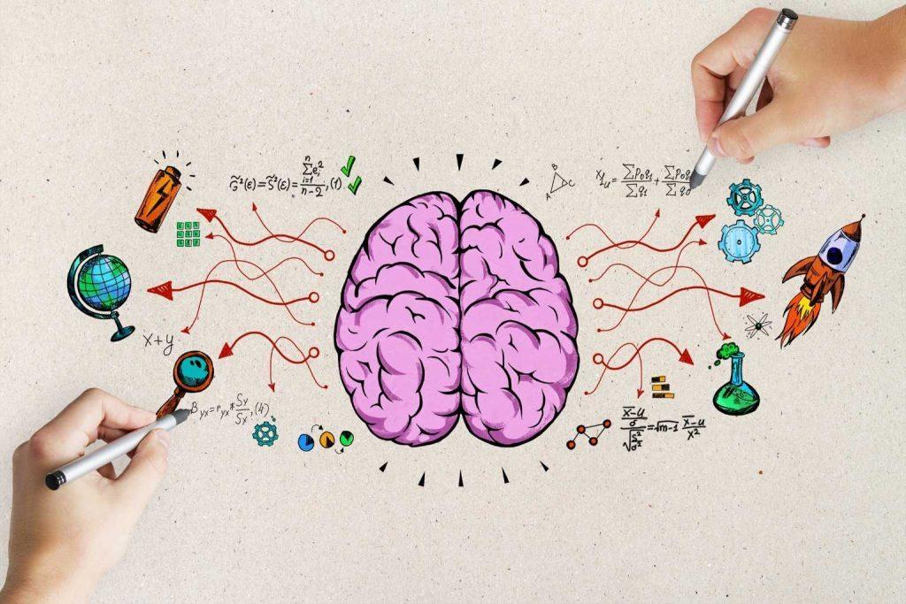 Brainstorming Zeichnung