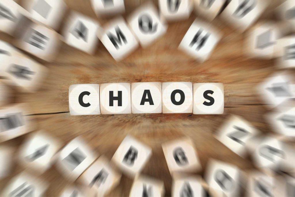 Scrabble Wort Chaos